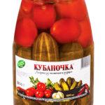 Ассорти из томатов и огурцов
