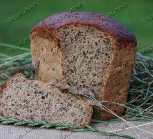 Хлеб с семенем льна