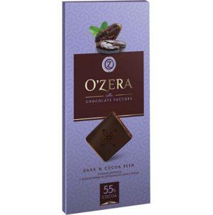 шоколад с какао бобами